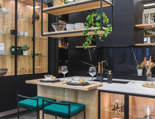 Cuisine présentée au salon de l'habitation 2020